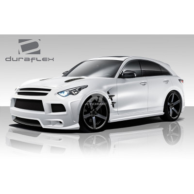 Duraflex 109011 CT-R Body Kit (FRP) для Infiniti FX 2009-2011 (7 Piece)