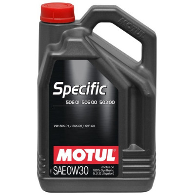 MOTUL 101171 Масло моторное SPECIFIC 506 01/ 506 00/ 503 00 0W-30 5L 101171