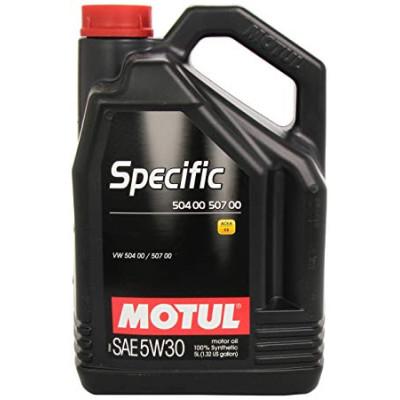 MOTUL 101476 Specific 504 00 507 00 5W30 масло моторное (VW) 5 л.