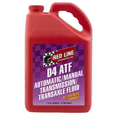 REDLINE OIL 30505 D4шт ATF - 3,8л