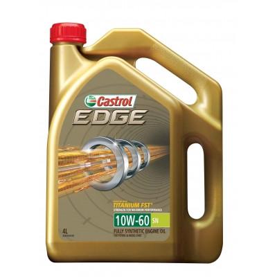 CASTROL 1536DB EDGE Titanium FST 10W60 масло моторное 4 л.
