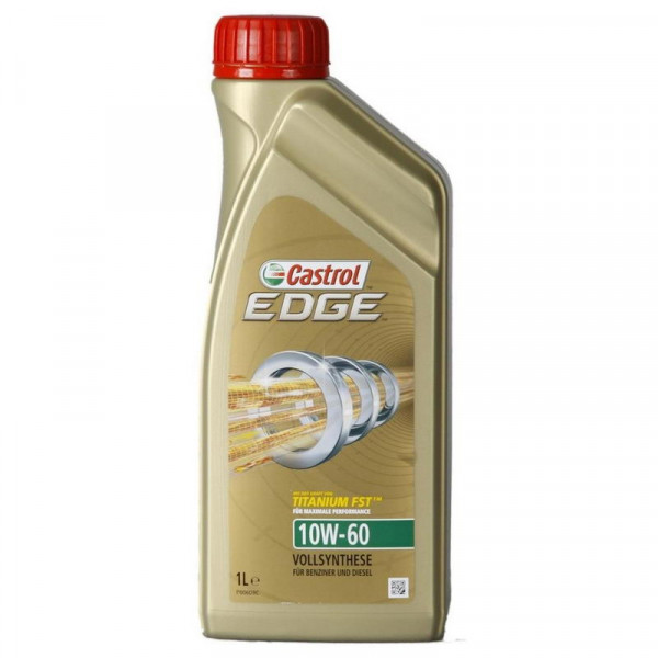 CASTROL 1536EC EDGE Titanium FST 10W60 масло моторное 1 л.