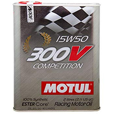 MOTUL 103138/104244 Масло моторное 300V Competition 15W50 2L