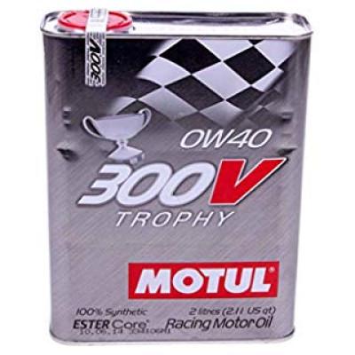 MOTUL 103127 300V TROPHY 0W40 масло моторное 2 л.