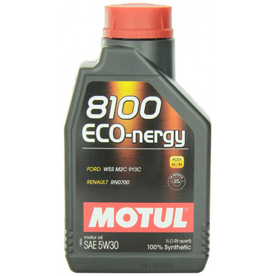 MOTUL 102782 8100 Eco-nergy 5W30 масло моторное 1 л.