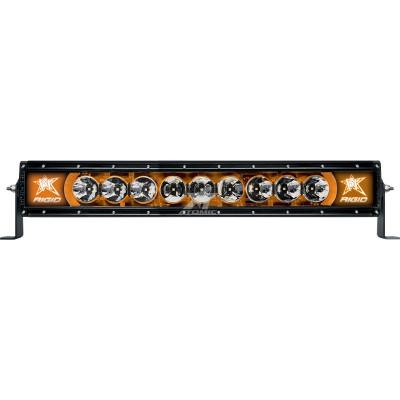 RIGID 22004 Фара 20″ Radiance-Серия (9 Светодиодов) Янтарная подсветка