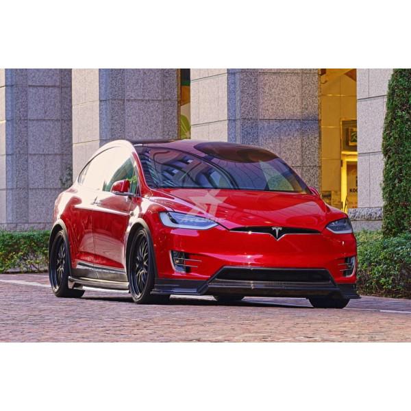 CE RAPTOR BODY KIT FULL SET (FH+SS+RH+RD) DRY CARBON TESLA Model X