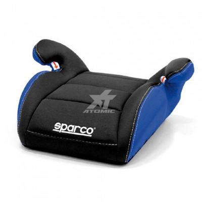 SPARCO 00924NRAZ Кресло/сиденье детское (бустер) F100 K, черный/синий