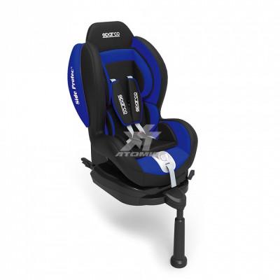 SPARCO 00923IAZ Кресло/сиденье детское F500 (группа 0+/1, 0-18кг), ISOFIX, синий