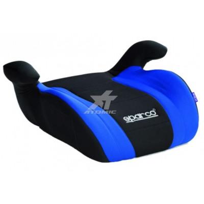 SPARCO ****Детское кресло F100-K Бустер от 22 до 36 кг, от 9 до 12 лет, сине-чёрное