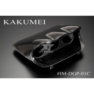 KAKUMEI IM-DGP-01C Подиум для трех приборов 60мм Impreza 2001 DEFI Style CARBON