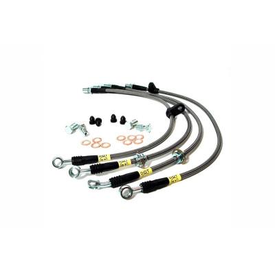 STOPTECH 950.47507 Тормозные шланги армированные задние Subaru WRX/STI