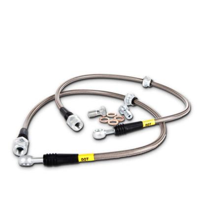 StopTech 950.33015 Шланги тормозные армированные (Передние) для VW Golf mk5/mk6 GTi / Audi A3 (8P)