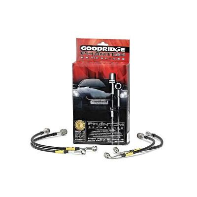 GOODRIDGE 24212 К-т шлангов тормозных армированных для SUBARU LEGACY BE/BH с задними диск. тормозами