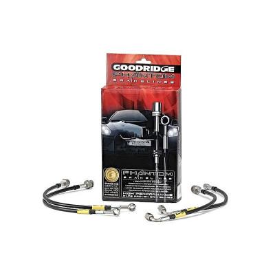 GOODRIDGE 30007 К-т шлангов тормозных армированных для AUDI A3 2005+ (2.0L non quattro)