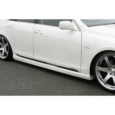 INGS LX-SPORT Lexus GS UZS/GRS19 Комплект из 3х частей (Накладка на передний бампер/Боковые юбки/Накладка на задний бампер) (стекловолокно)